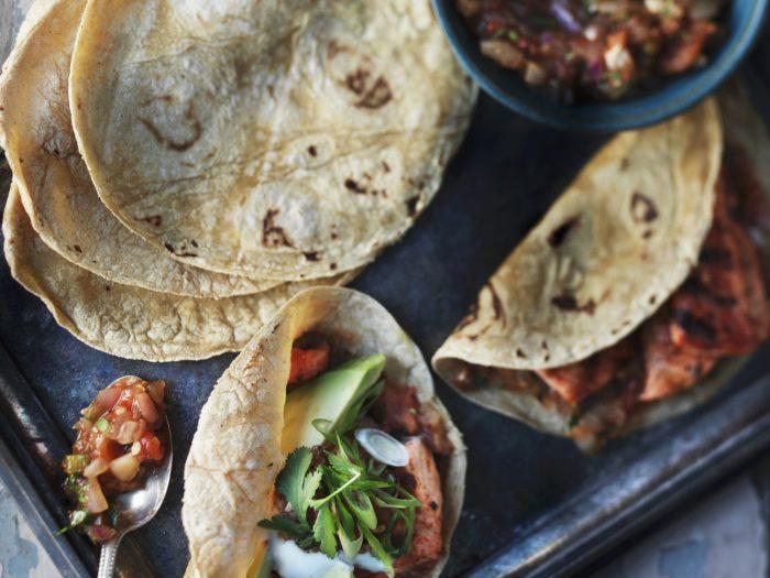 Chicken tacos with bean salsa and avocado.jpg