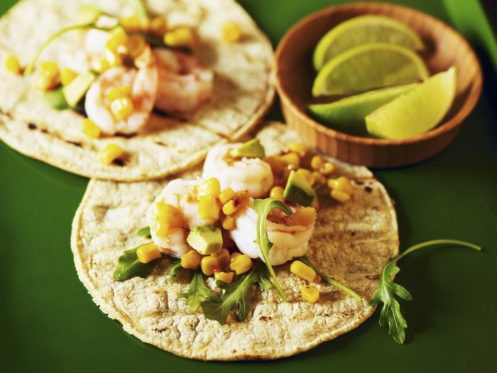 Tortillas w avo and corn salsa.jpg