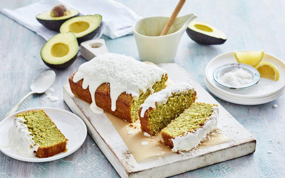 Dairy-free Lemon Avocado Pound Cake