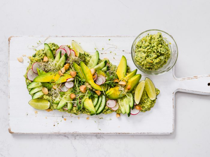 Amazing Shepard Avocado Salad by Luke Hines