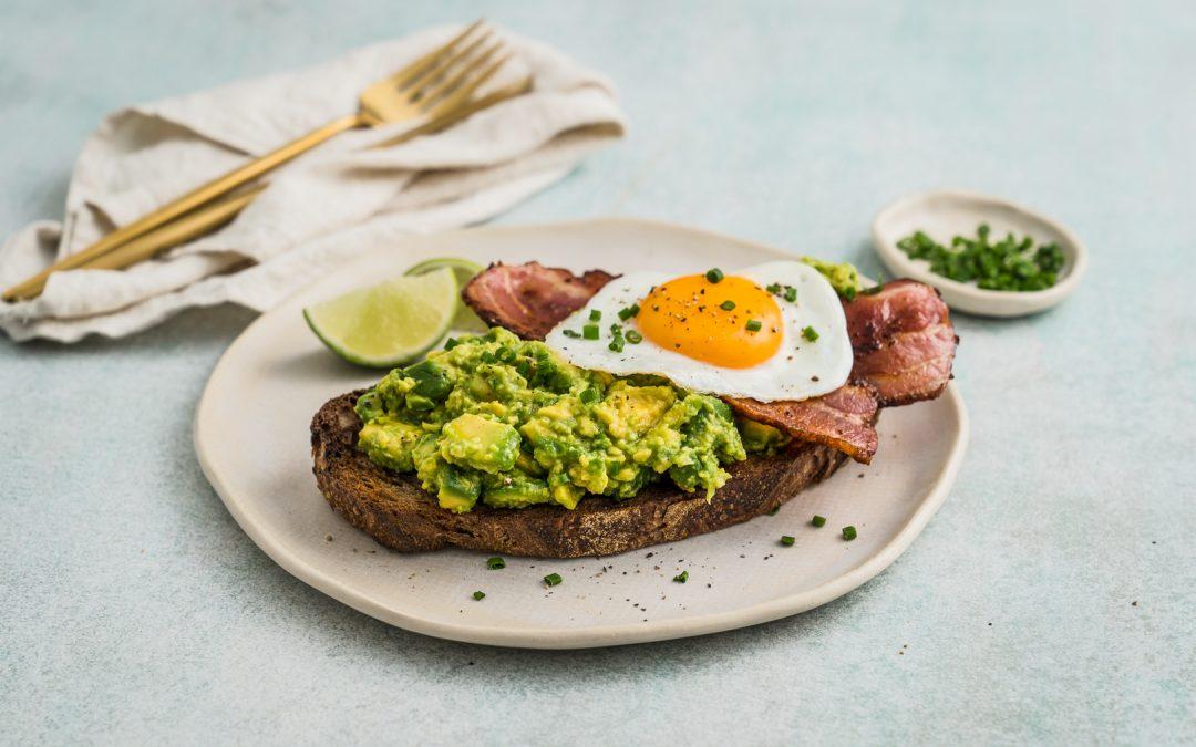 Egg & Bacon Avocado Toast