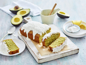 Dairy-free Lemon Avocado Pound Cake