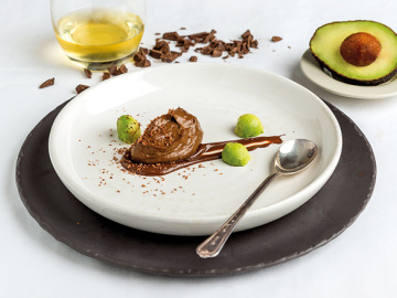 Avo chocolate mousse